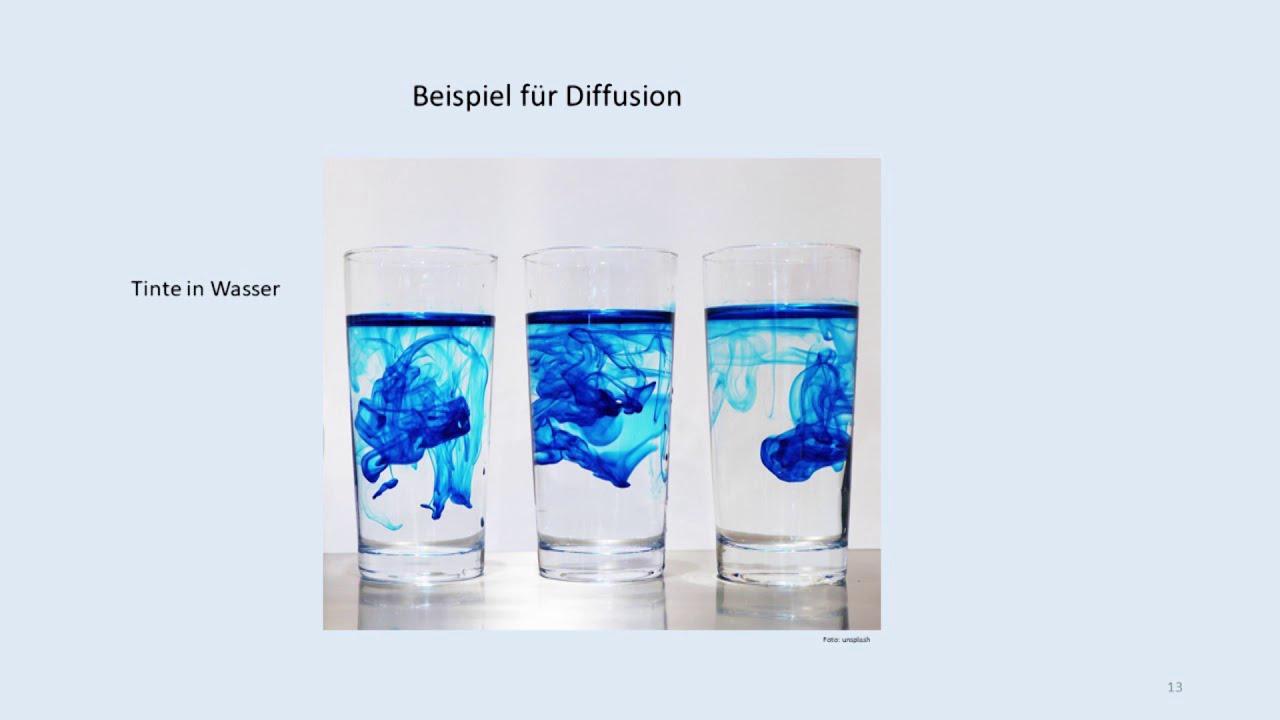 Wasserdampfdiffusion, kurz erläutert