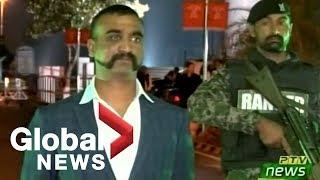 Pakistan hands over captured Indian Air Force pilot at border