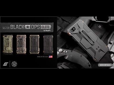 official photos 2ba1e 589ac Element Case Black Ops Elite iPhone 5S Case