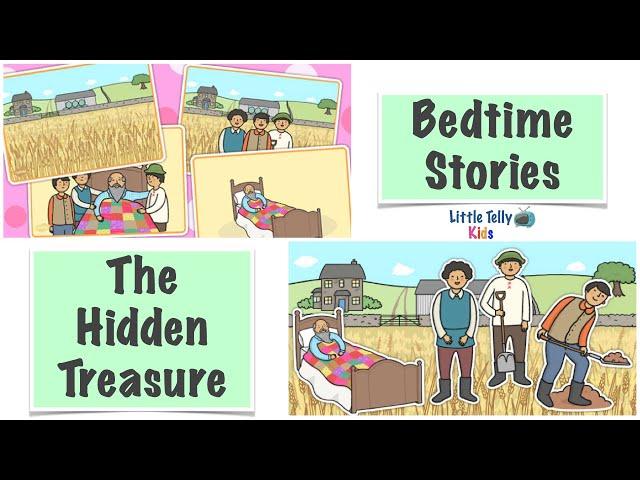 The Hidden Treasure || Bedtime Stories || Moral Stories || Peaceful & Relaxing || Story Series ||