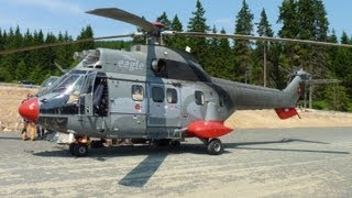 Eurocopter AS332 Super Puma | Sessellift-Montage am Wurmberg