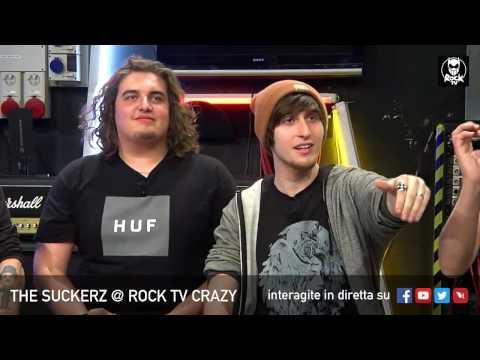 THE SUCKERZ A ROCK TV CRAZY LIVE SU ROCK TV 🤡😂📲
