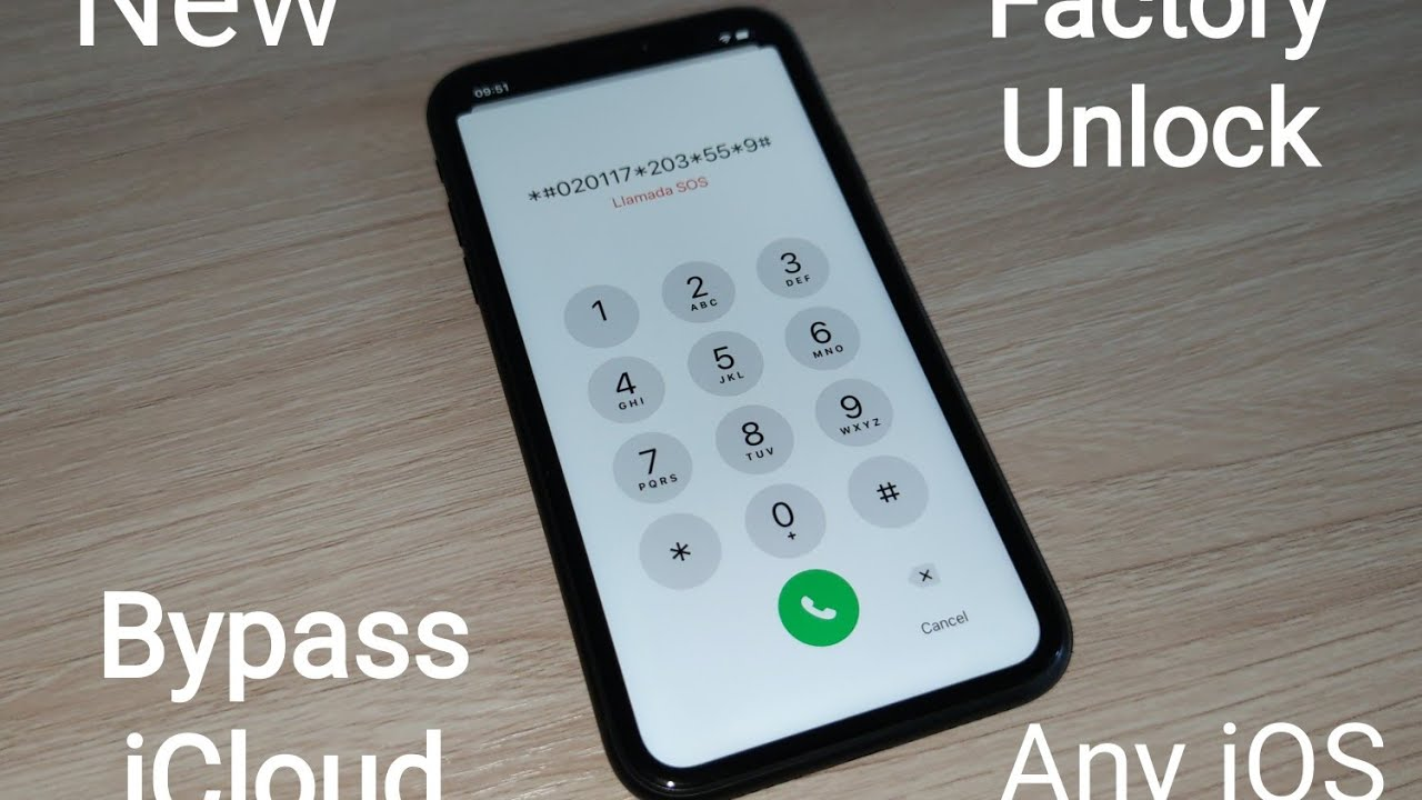 Unlock iCloud iPhone 11,XS,XR,X,8,7,6,5,4 Any iOS 13,12,11,10,9,8,7 All Models bypass