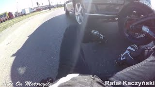 Mirror smack | Extremely Close Calls, Road Rage, Crashes & Scary Motorcycle Accidents [EP #39]