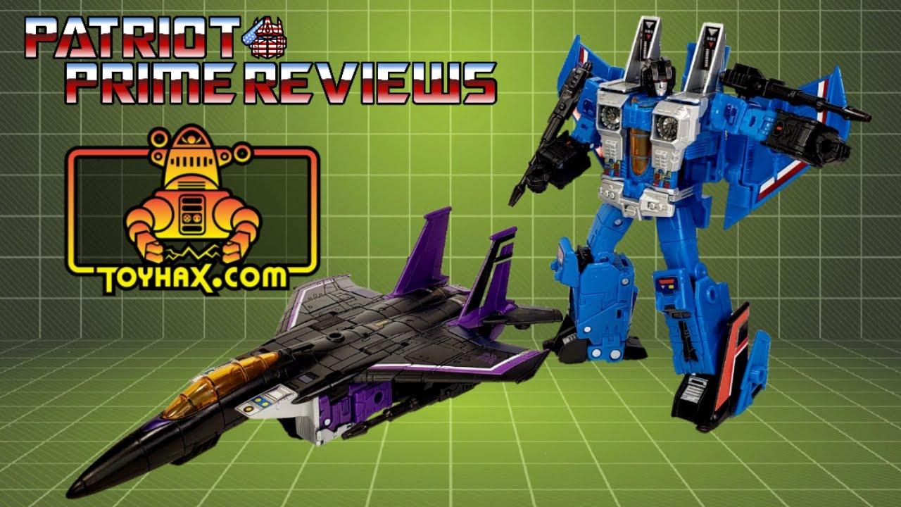 Patriot Prime Reviews Toyhax Decals for Earthrise Skywarp & Thundercracker