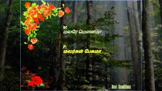 Malare Mounama_ Nevi_ Karaoke Track for Female Singers