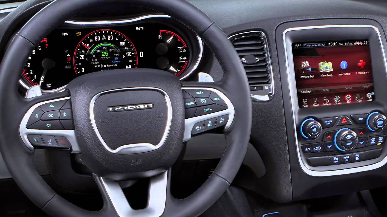 2014 Dodge Durango Feature Youtube