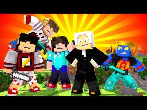 3 CONTRA 1, FOI INJUSTO? | 05 | Minecraft Nexus Clans