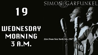 Wednesday Morning 3am, Live From NYC 1967, Simon & Garfunkel