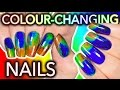DIY Colour-Changing Nails with LCD screen ingredients?!? WILL I DIE??