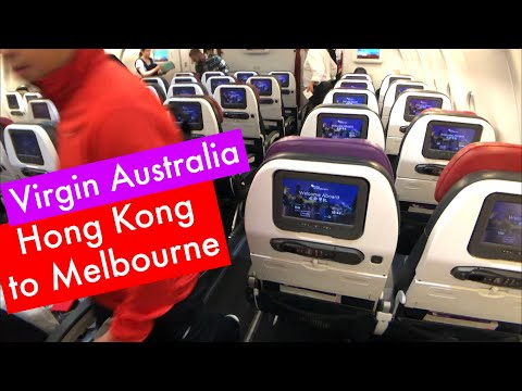 NEVER GET HUNGRY | Virgin Australia ECONOMY Class: VA68 Hong Kong To Melbourne (A330-200)
