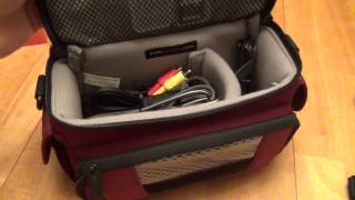 LowePro Edit 130 Video Bag (Bordeaux Red) Review
