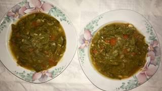 Posna boranija rezept/Vegetarischer Eintopf mit grünen Bohnen Rezept