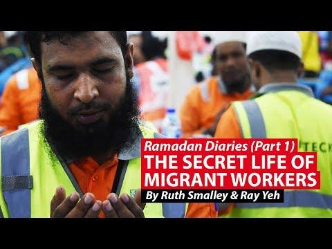 Ramadan Diaries: The Secret Life Of Migrant Workers | CNA Insider
