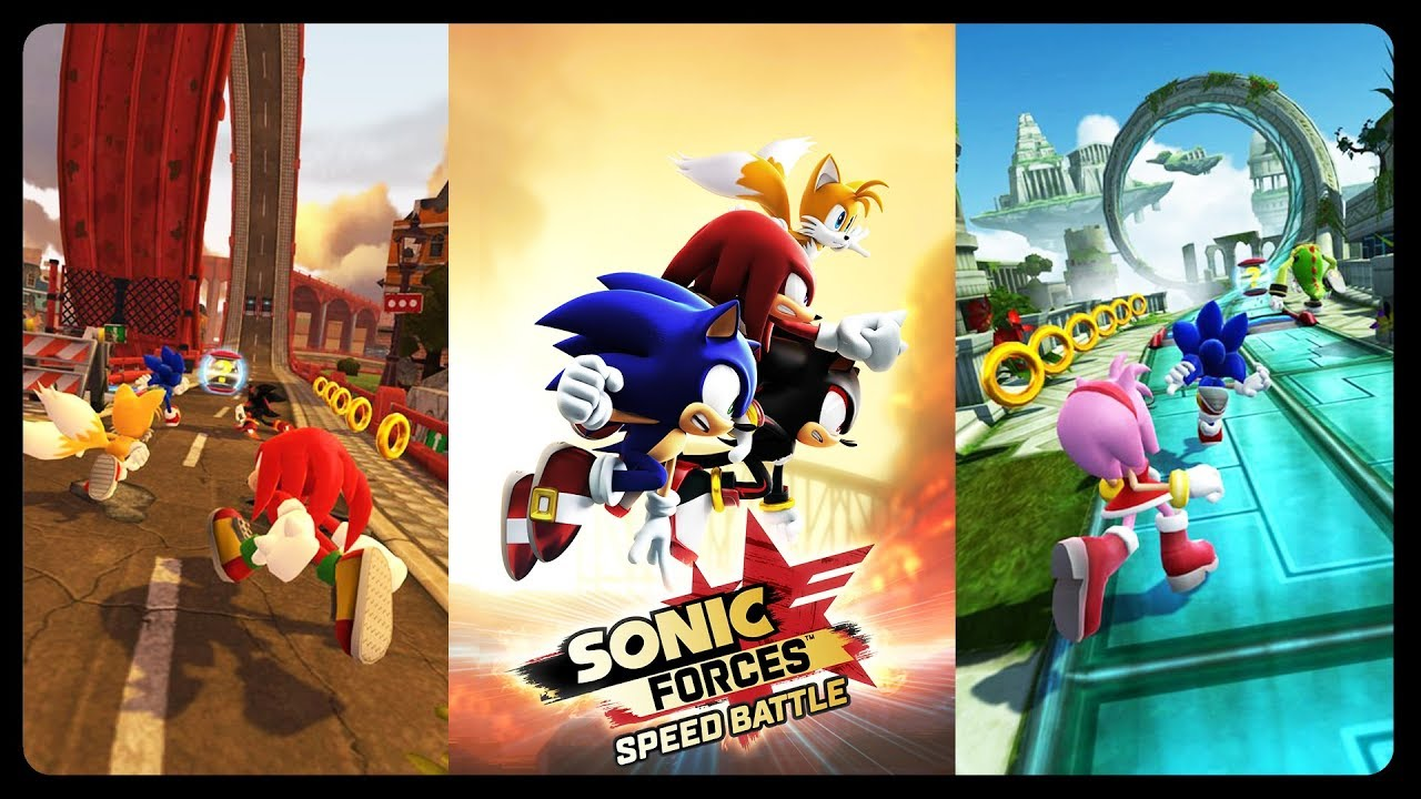 Sonic Forces: Speed Battle - 7 Characters Gameplay! #iOS #Android