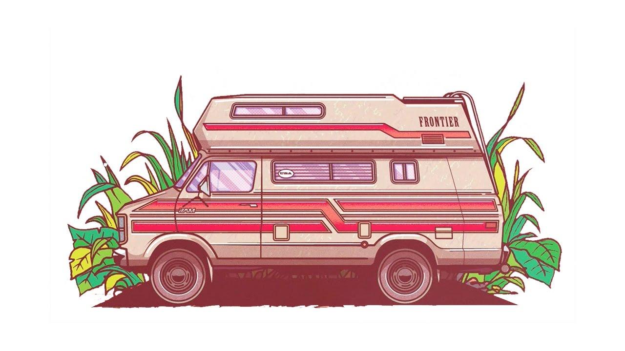 RV Time Lapse In Adobe Illustrator