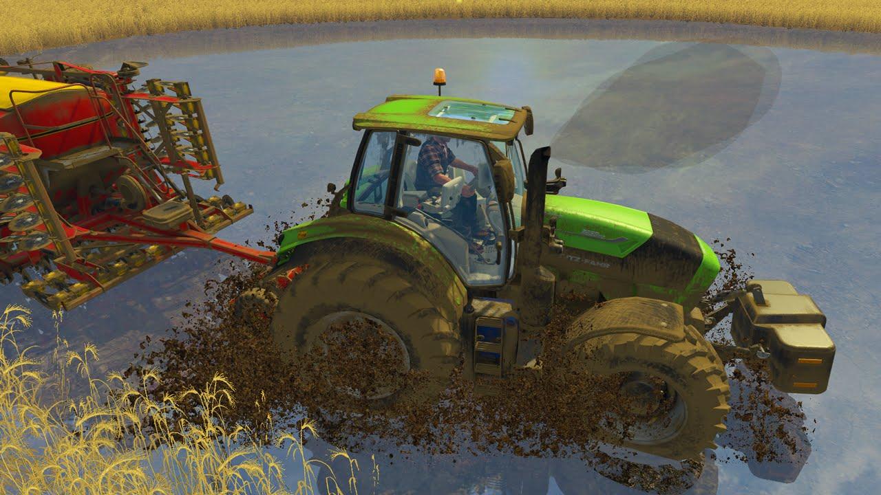 Çamurlu Harita - Farming Simulator 15 Modları #1