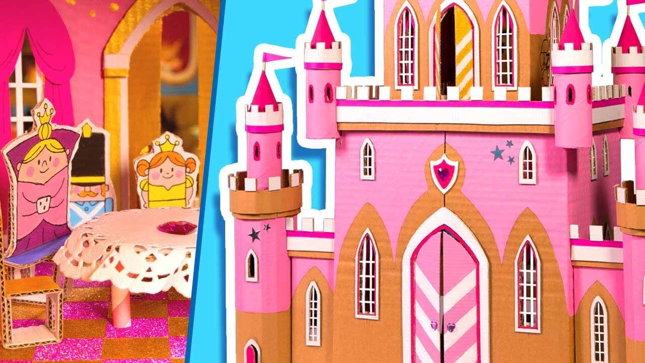 How To Make An Amazing Castle From Cardboard Diy Crafts Ideas