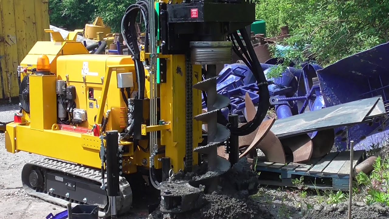 Mini Piling Rigs For Sale | Small Drilling Rigs | Piling Equipment