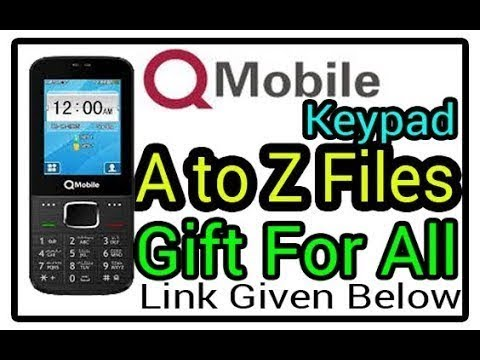 A to Z Q-Mobile Firmware Pack | A Gift For All | All China Keypad Firmware  Pack | Link Given Below