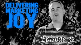 Delivering Marketing Joy Episode 32 Rosalie Marcus