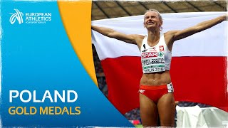 Relive berlin 2018 with all the gold medal performances from poland. tally 2nd place champions for european championships more ...