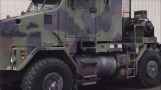 2000 Oshkosh M1070 8x8 HET Tractor