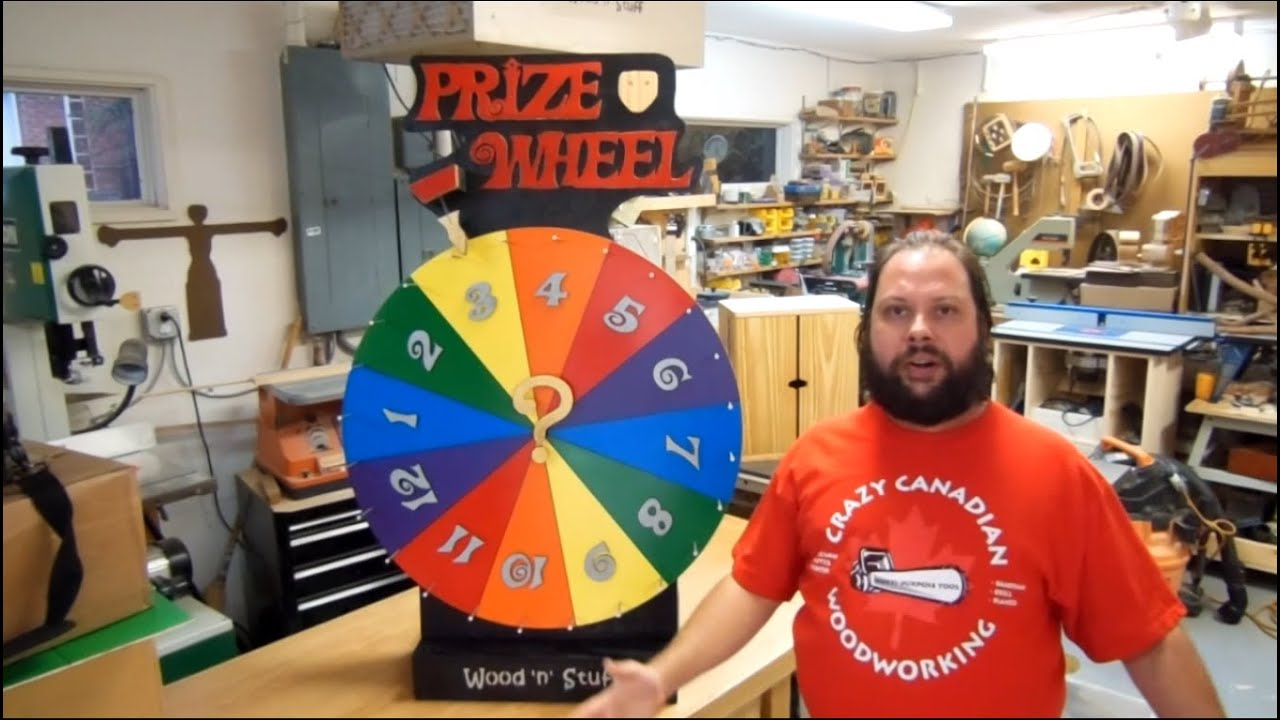 New How To Make A Prize Wheel: Prize Spinner - YouTube CE67