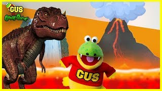 Giant Dinosaurs In Real Life + Pretend Play with Dinosaurs & Bunch of Balloons!!