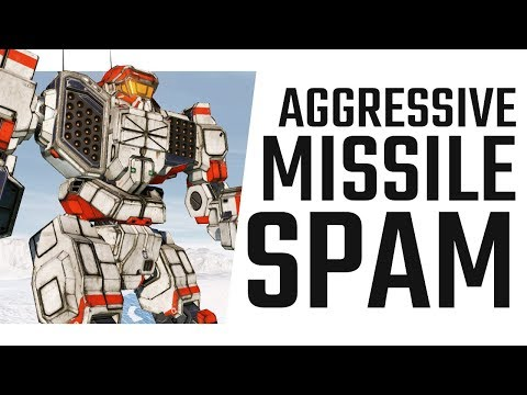 Aggressive Missile Spam with the Trebuchet - Mechwarrior Online The Daily Dose #520