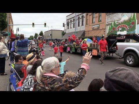 Raw Video: 2017 Strawberry Festival Grand Parade