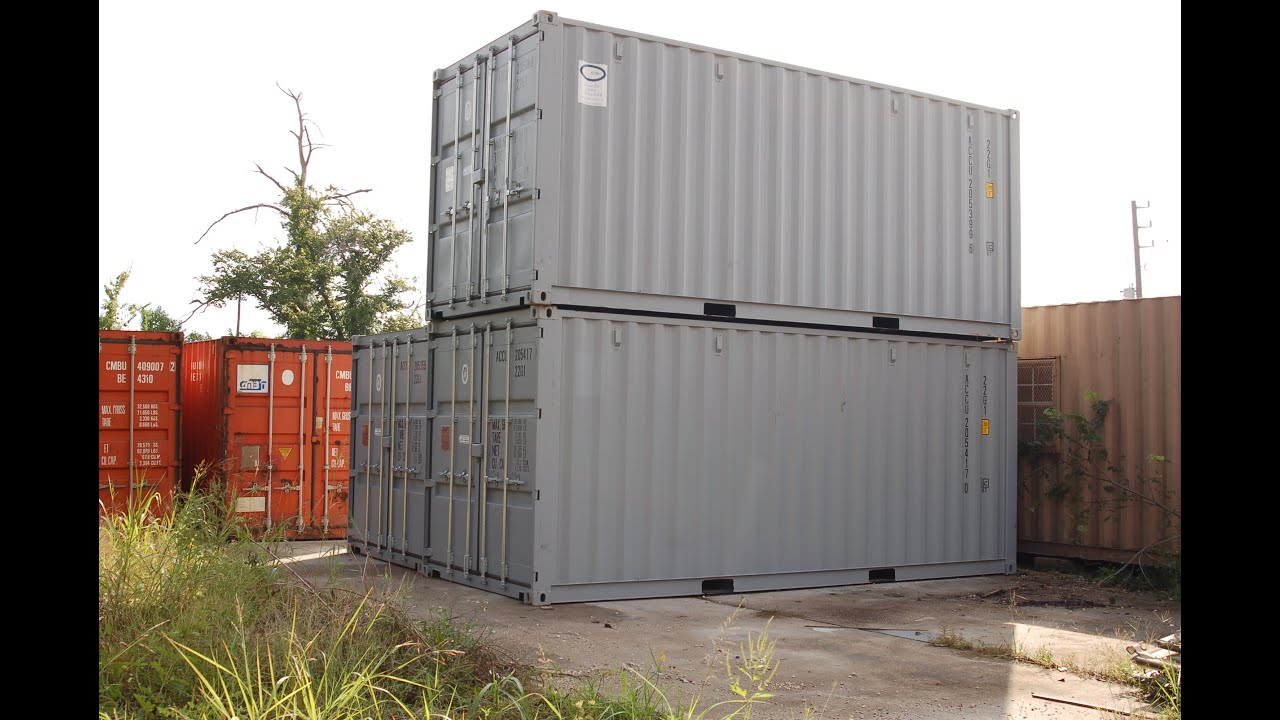 used shipping containers for sale in houston 281 703 5062 youtube. Black Bedroom Furniture Sets. Home Design Ideas