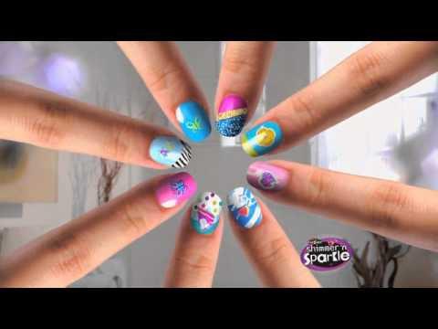 Shimmer sparkle nail design studio youtube shimmer sparkle nail design studio prinsesfo Image collections