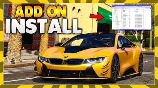 How to Install Add On Car Mods In GTA 5 PC! (GTA V Voice Tutorial) *EASY TUTORIAL*