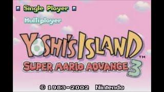 Yoshi's Island: Super Mario Advance 3 (GBA) - Longplay