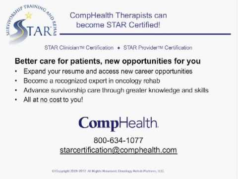 STAR Certification Program - CompHealth - YouTube