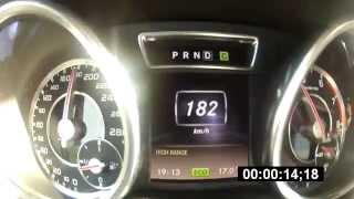 Mercedes-Benz G63 AMG 0-100 0-200 разгон (acceleration)