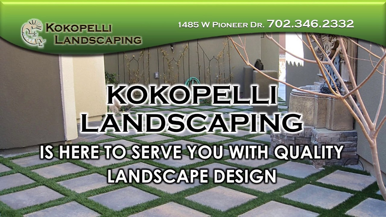 Kokopelli Landscaping Adver