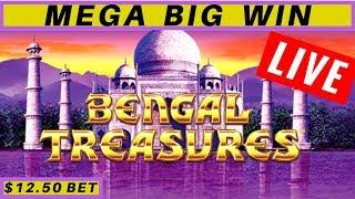Part 2! After BUFFALO GOLD Handpay Jackpot ! Lightning Link Bengal Treasures Slot Machine HUGE WIN