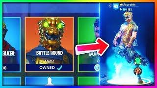 "How To Get NEW ""Battle Hound"" LEGENDARY SKIN For *FREE* in Fortnite!"