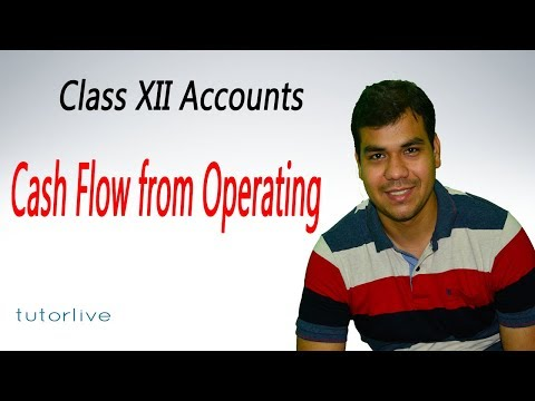 Cash flow from operating activity : XII Accounts - tutorlive
