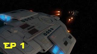 Star Trek Armada  III Dominion War  - The Initial Invasion Ep1 - Sins of a Solar Empire Mod