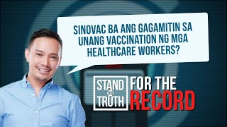 Stand for Truth: Sinovac for healthcare workers?