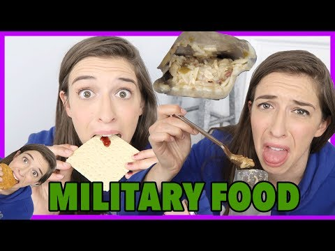Trying Military Food!