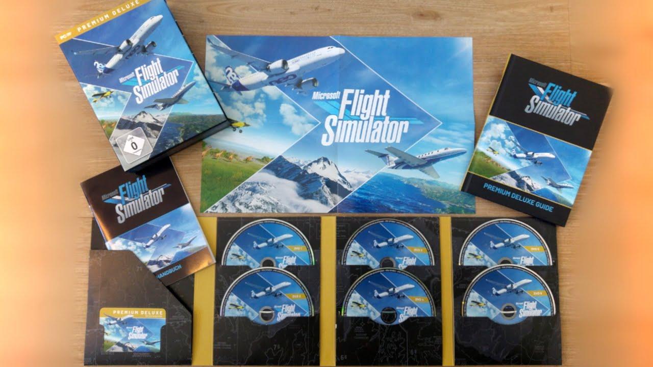 Microsoft Flight Simulator 2020 Premium Deluxe Edition ...