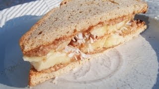 Paleo Meenut Butter Banana Coconut On Paleo Bread™