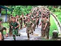 Indonesian Army & US Army Joint Physical Training Exercises & Sports Competition | Indonesia - US