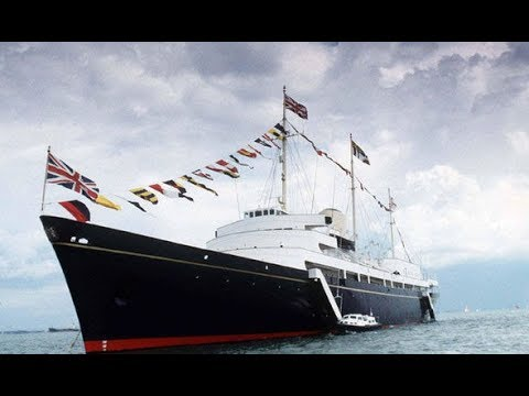 Full Tour Royal Yacht Britannia #Edinburgh #Scotland
