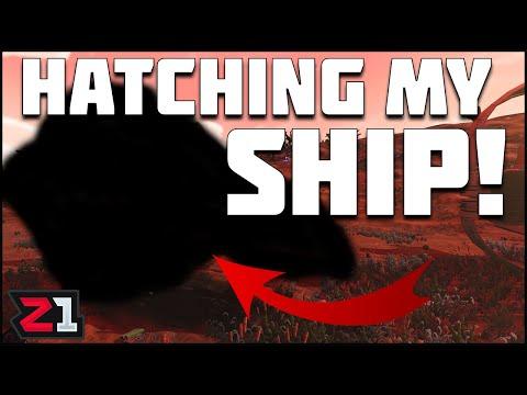 Hatching My LIVING SHIP ! Living Ship Final Mission. No Mans Sky Living Ship Update   Z1 Gaming