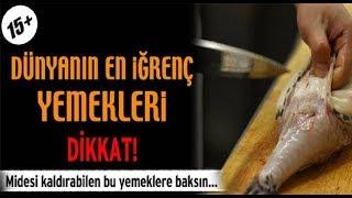 türk mutfağına asla giremeyecek yemekler